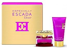 Düfte, Parfümerie und Kosmetik Escada Especially Elixir - Duftset (Eau de Parfum 30ml+Körperlotion 50ml)