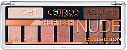 Düfte, Parfümerie und Kosmetik Lidschattenpalette - Catrice The Fresh Nude Collection Eyeshadow Palette