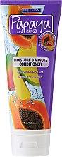 Düfte, Parfümerie und Kosmetik Feuchtigkeitsspendender Haarbalsam - Freeman Papaya and Mango Moisture 3 Minute Conditioner