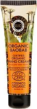 Düfte, Parfümerie und Kosmetik Stärkende Handcreme mit Bio Boababöl - Planeta Organica Organic Baobab Hand Cream