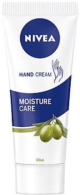 Handcreme - Nivea Hand Cream Moisture Care Olive — Bild N1