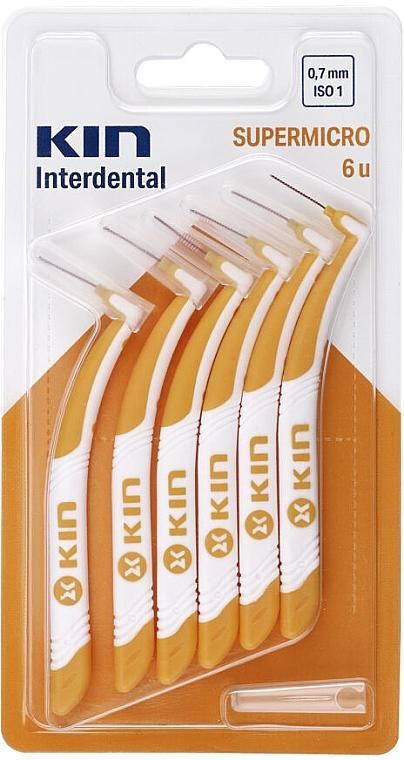Interdentalzahnbürsten 0,7 mm - Kin Supermicro ISO 1 — Bild N1