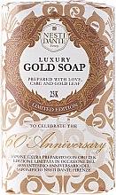 Düfte, Parfümerie und Kosmetik Luxuriöse Naturseife Gold - Nesti Dante Vegetable Luxury Gold Soap 23K Limited Edition