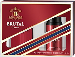 Düfte, Parfümerie und Kosmetik La Rive Brutal Classic - Duftset (After Shave Lotion/100ml + Deodorant/150ml)
