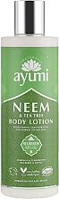 Düfte, Parfümerie und Kosmetik Körperlotion mit Neem und Teebaum - Ayumi Neem & Tea Tree Body Lotion