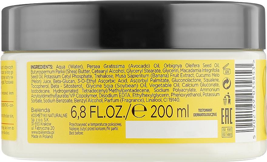 Energetisierende Körpercreme mit Bananen- und Zuckermelonenextrakt - Bielenda Smoothie Care — Bild N3