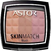 Düfte, Parfümerie und Kosmetik Gesichtsrouge Trio - Astor Skin Match Trio Blush