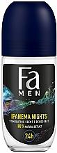 Düfte, Parfümerie und Kosmetik Deo Roll-on Antitranspirant - Fa Men Ipanema Nights Deo Roll On