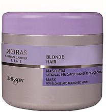Düfte, Parfümerie und Kosmetik Pflegende Haarmaske für gefärbtes und aufhellendes Haar - Dikson Blond Hair Anti-Yellow Mask