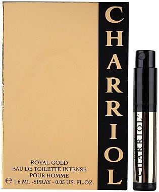 Charriol Royal Gold Eau De Toilette Intense Pour Homme - Eau de Toilette (Probe) — Bild N1