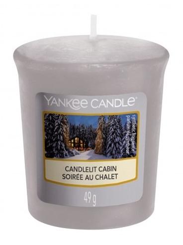 Votivkerze Candlelit Cabin - Yankee Candle Candlelit Cabin Sampler Votive — Bild N1