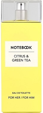 Notebook Citrus & Green Tea - Eau de Toilette — Bild N1