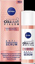 Düfte, Parfümerie und Kosmetik Gesichtsserum gegen Pigmentflecken mit Hyaluronsäure, Kollagen und Elastin - Nivea Cellular Anti-Blemish Serum
