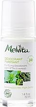Düfte, Parfümerie und Kosmetik Erfrischendes Deo Roll-on - Melvita Body Care Purifyng Deodorant 24 hr Effectiveness