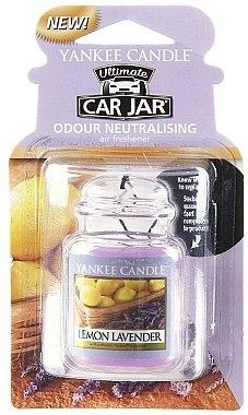 Auto-Lufterfrischer Lemon Lavender - Yankee Candle Lemon Lavender Jar Ultimate — Bild N1