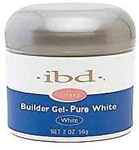 Aufbau-Gel in Weiß für natürlich schöne Nägel - IBD Builder Gel Pure White — Bild N3