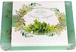 Düfte, Parfümerie und Kosmetik Seife mit Traubenkern- und Pfefferminzöl - Delicate Organic Aroma Soap