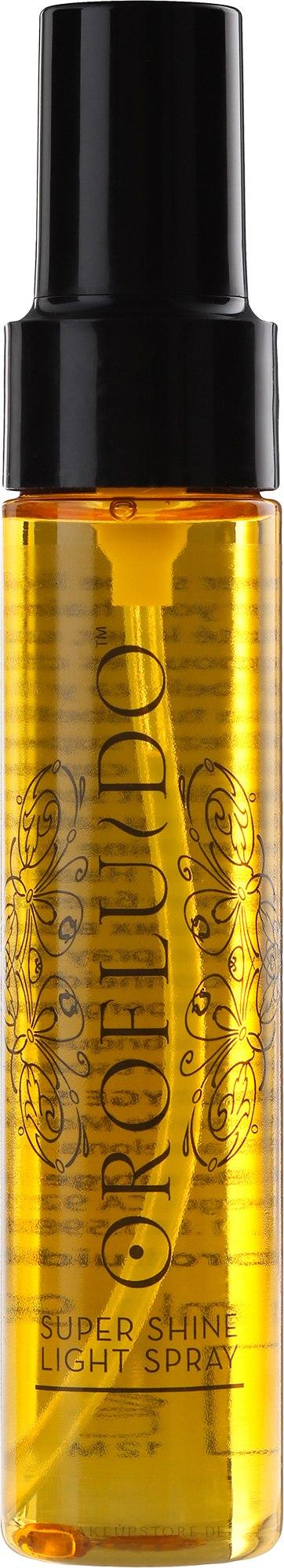 Haarspray für sofortigen Glanz - Orofluido Super Shine Light Spray — Bild 55 ml