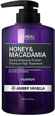 Feuchtigkeitsspendende Haarspülung mit Amber und Vanille - Kundal Honey & Macadamia Amber Vanilla Treatment — Bild N1