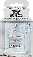 Düfte, Parfümerie und Kosmetik Auto-Lufterfrischer - Yankee Candle Fluffy Towels Car Jar Ultimate