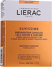 Düfte, Parfümerie und Kosmetik Nahrungsergänzungsmittel für langanhaltende, gesunde und schnelle Bräune - Lierac Sunissime Capsules
