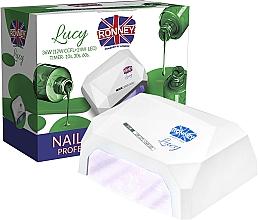 Düfte, Parfümerie und Kosmetik CCFL/LED Lampe für Nageldesign weiß - Ronney Profesional Lucy CCFL + LED 38W (GY-LCL-021) Lamp