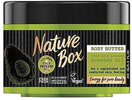 Düfte, Parfümerie und Kosmetik Körperbutter mit kaltgepresstem Avocadoöl - Nature Box Avocado Oil Body Butter
