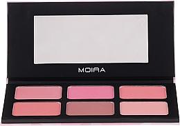 Düfte, Parfümerie und Kosmetik Rougepalette für das Gesicht - Moira Blossom & Adore Blush Palette