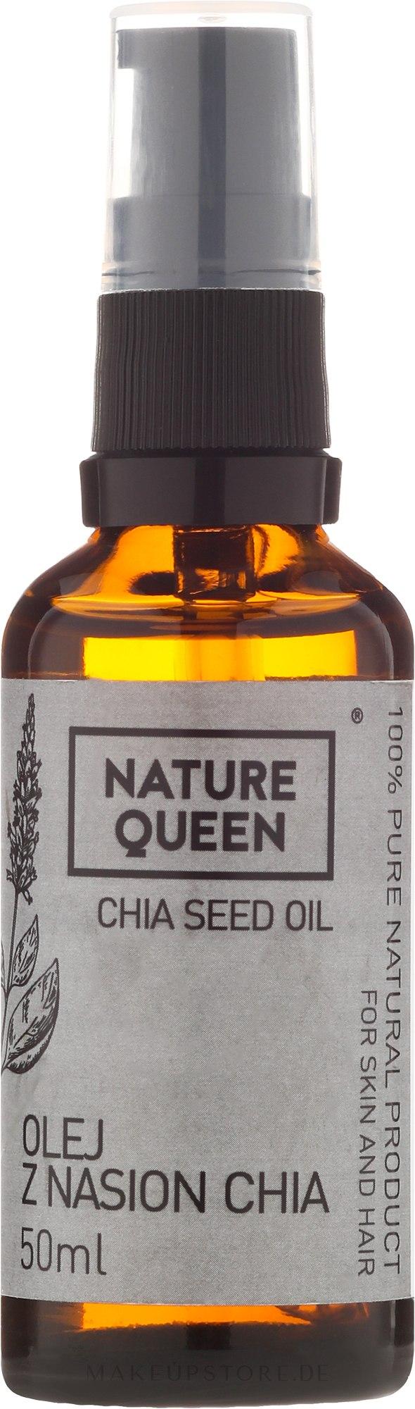 Chiasamenöl - Nature Queen Chia Seed Oil — Bild 50 ml