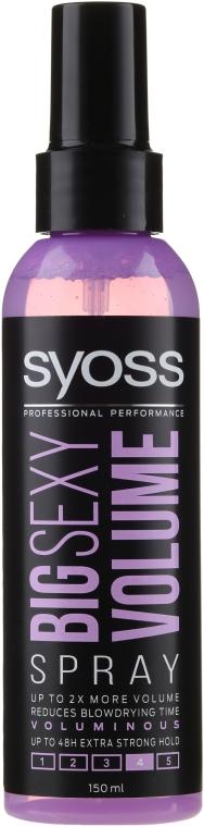 Volumen Haarspray - Syoss Big Sexy Volume Blow Dry Spray — Bild N1
