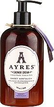 Düfte, Parfümerie und Kosmetik Duschcreme mit ätherischen Ölen und cremiger Gardenie - Ayres Sweet Nostalgia Shower Cream
