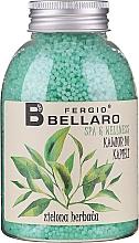 Düfte, Parfümerie und Kosmetik Entspannendes Badekaviar mit Grüntee-Duft - Fergio Bellaro Green Tea Bath Caviar