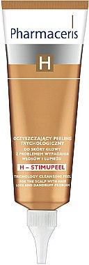 Reinigendes Kopfhautpeeling - Pharmaceris H-Stimupeel Trichology Cleansing Peel — Bild N1