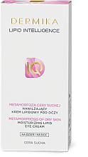 Feuchtigkeitsspendende Anti-Falten Creme für die Augenpartie mit Lipiden - Dermika Lipid Intelligence — Bild N2