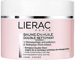 Düfte, Parfümerie und Kosmetik Balsam-in-Öl mit zweifache Reinigungswirkung für trockene Gesichtshaut - Lierac Double Nettoyant Baume-En-Huile