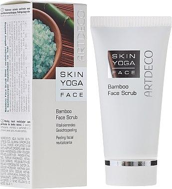 Vitalisierendes Gesichtspeeling mit Bambus - Artdeco Skin Yoga Face Bamboo Face Scrub — Bild N1
