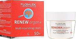 Düfte, Parfümerie und Kosmetik Pflegende Nachtcreme für das Gesicht 50+ - Floslek Multi-nourishing cream 50+