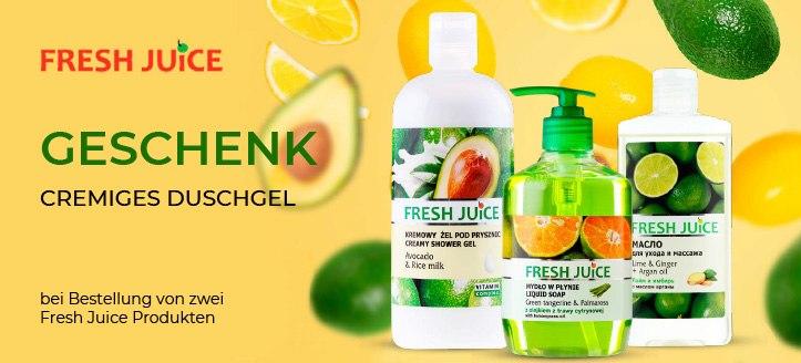 Sonderaktion von Fresh Juice