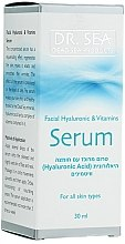 Anti-Aging Gesichtsserum mit Hyaluronsäure und Vitaminen - Dr. Sea Facial Hyaluronic & Vitamins Serum — Bild N2