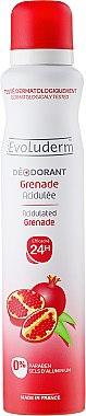 Deospray - Evoluderm Deodorant Acidulated Grenade 24H — Bild N1