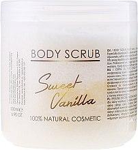 Düfte, Parfümerie und Kosmetik Körperpeeling Sweet Vanilla - Hristina Cosmetics Sezmar Professional Body Scrub Sweet Vanilla