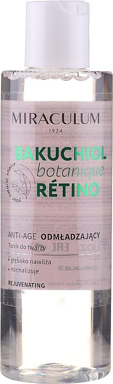 Tief feuchtigkeitsspendendes und verjüngendes Anti-Aging Gesichtstonikum - Miraculum Bakuchiol Botanique Retino Tonic