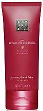 Düfte, Parfümerie und Kosmetik Regenerierender Handbalsam Mandeln & Indische Rose - Rituals The Ritual of Ayurveda Recovery Hand Balm