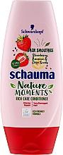 Intensiv pflegende Haarspülung mit Erdbeeren, Bananen und Chiasamen - Schauma Nature Moments — Bild N1