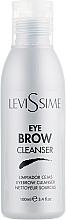 Düfte, Parfümerie und Kosmetik Augenbrauen-Reinigungsmittel vor einer technischen Behandlung - LeviSsime Eye Brow Cleanser