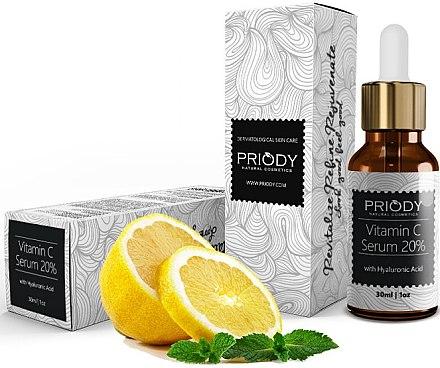 Gesichtsserum - Priody Vitamin C Serum — Bild N1