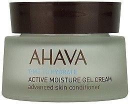 Düfte, Parfümerie und Kosmetik Intensiv feuchtigkeitsspendende Gesichtscreme-Gel - Ahava Time To Hydrate Active Moisture Gel Cream
