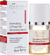 Düfte, Parfümerie und Kosmetik Rosenserum für empfindliche Haut - Bielenda Professional Individual Beauty Therapy Normalizing 2-Phase Skin Stimulating Serum