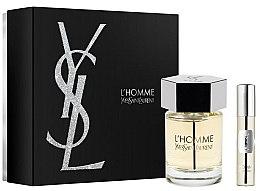 Düfte, Parfümerie und Kosmetik Yves Saint Laurent L'Homme - Duftset (Eau de Toilette 100ml + Mini 10ml)