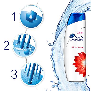 Kräftigendes Anti-Schuppen Shampoo - Head & Shoulders Thick & Strong — Bild N4